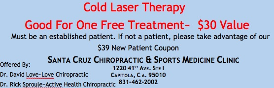 Cold Laser Therapy Treatment Coupon
